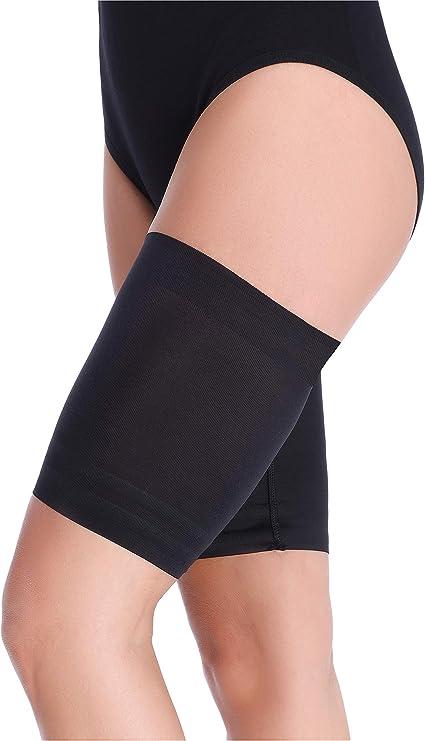 fasce elastiche foderate in raso per cosce anti-sfregamento Vijamiy