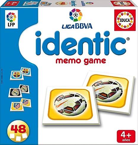 Juegos educativos Educa - Identic Escudos Liga de Fútbol Profesional 2014-15, 48 Cartas (16385): Amazon.es: Juguetes y juegos