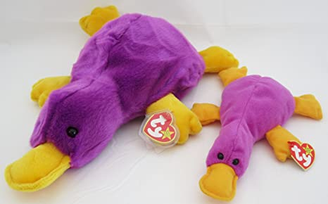 561ab0b3c88 Amazon.com  Ty Beanie Buddy   Baby Set - Patti the Platypus  Toys ...