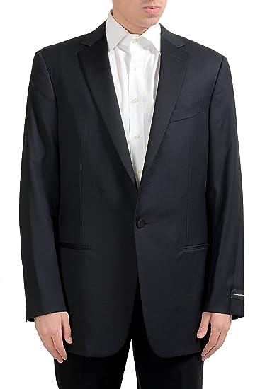f02010bd7 Image Unavailable. Image not available for. Color: Ermenegildo Zegna Men's  100% Wool One Button Blazer ...