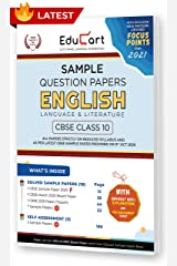 Educart CBSE Class 10 English Language & Literature Sample Question Papers 2021 (As Per 9th Oct CBSE Sample Paper) Kindle Edition