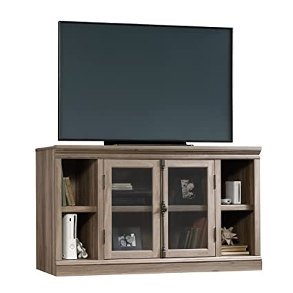 Amazoncom Wooden Entertainment Center Tv Stand Open And Enclosed