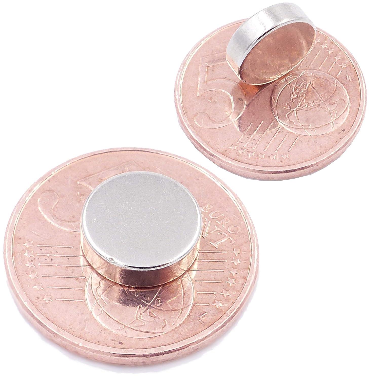 lavagne magnetiche 30 Mini Magneti Dischi da 10x3mm Rotondi ed Extra potenti Foto Grado Magnetico N52 magneti per modellismo magneti in neodimio Ultra potenti Brudazon Piccoli