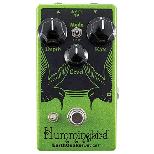 EarthQuaker Devices Hummingbird V4 Repeat Percussion Tremolo Guitar Effects Pedal