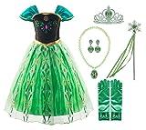 Padete Little Girls Anna Princess Dress Elsa Snow