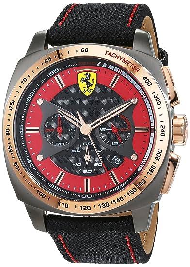Ferrari 0830294 Aero Evo - Reloj de pulsera para hombre: Amazon.es: Relojes