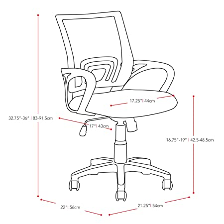 office chair drawing. Modren Chair Amazoncom CorLiving LOF320O Workspace Mesh Back Office Chair Teal  Kitchen U0026 Dining In Chair Drawing U