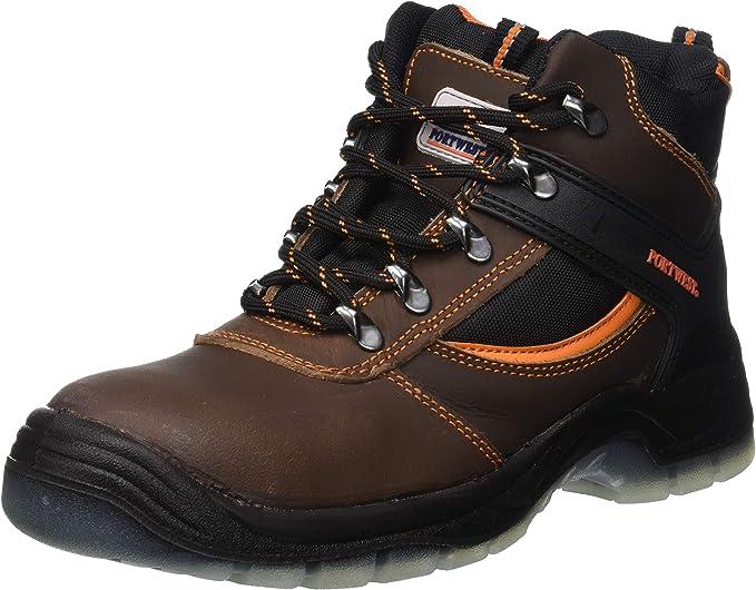 Portwest FW57 Steelite All Weather Work Boot with Protective Steel Toecap ASTM