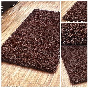 Hochwertiger Shaggy Teppich | Weicher Hochflor Langflor Zottelteppich |  Einfarbige Läufer Teppiche Für Schlafzimmer,