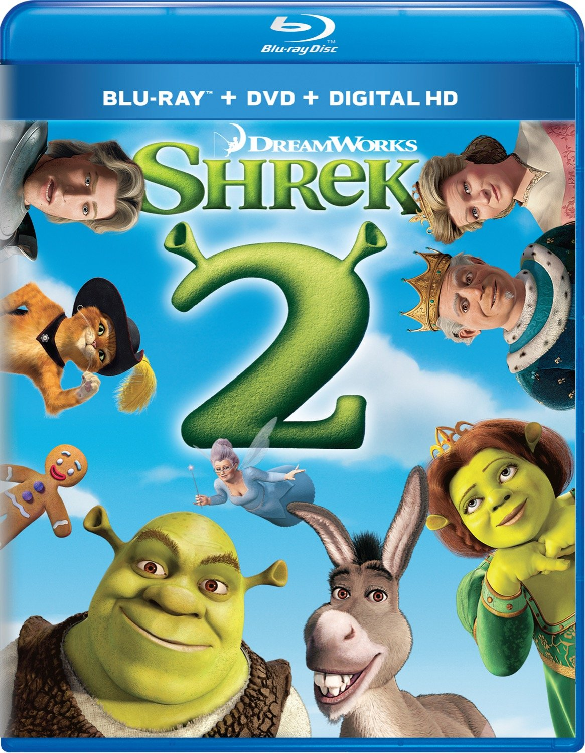 Amazon.com: Shrek 2 [Blu-ray]: Mike Myers, Eddie Murphy, Cameron Diaz,  Julie Andrews, Antonio Banderas, John Cleese, Rupert Everett, Jennifer  Saunders, Larry King, Joan Rivers, Andrew Adamson, Kelly Asbury, Conrad  Vernon, Aron Warner,