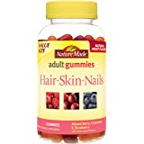 Nature Made Hair, Skin & Nails Adult Gummies Value Size 150 Ct
