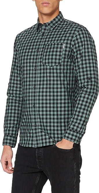 Jack /& Jones Jcobarrie Shirt LS Plain Camisa para Hombre