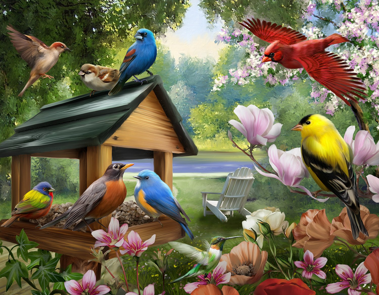 売れ筋商品 (Dinner Dinner Time) - - The Jigsaw Puzzle Factory Songbirds Dinner Factory Time (550 Piece), Multicolor B07B4FQSQR, 勝浦郡:74907799 --- a0267596.xsph.ru