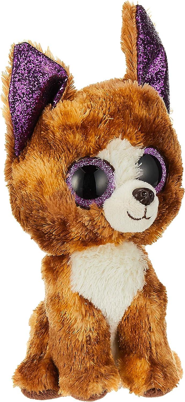 "6/"" TY Beanie Boos Dexter 2018 New Glitter Eyes Plush Stuffed Toys Chihuahua Dog"