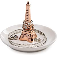 AsherKeep - Rose Gold Engagement Ring Dish Engagement Ring Plate - Eiffel Tower Ring Dish - Bride Ring Holder