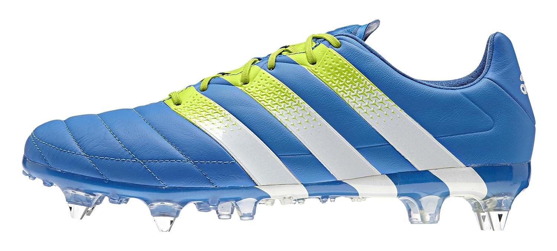 Adidas Herren Ace 16.1 Sg Leder Fußballschuhe, blau