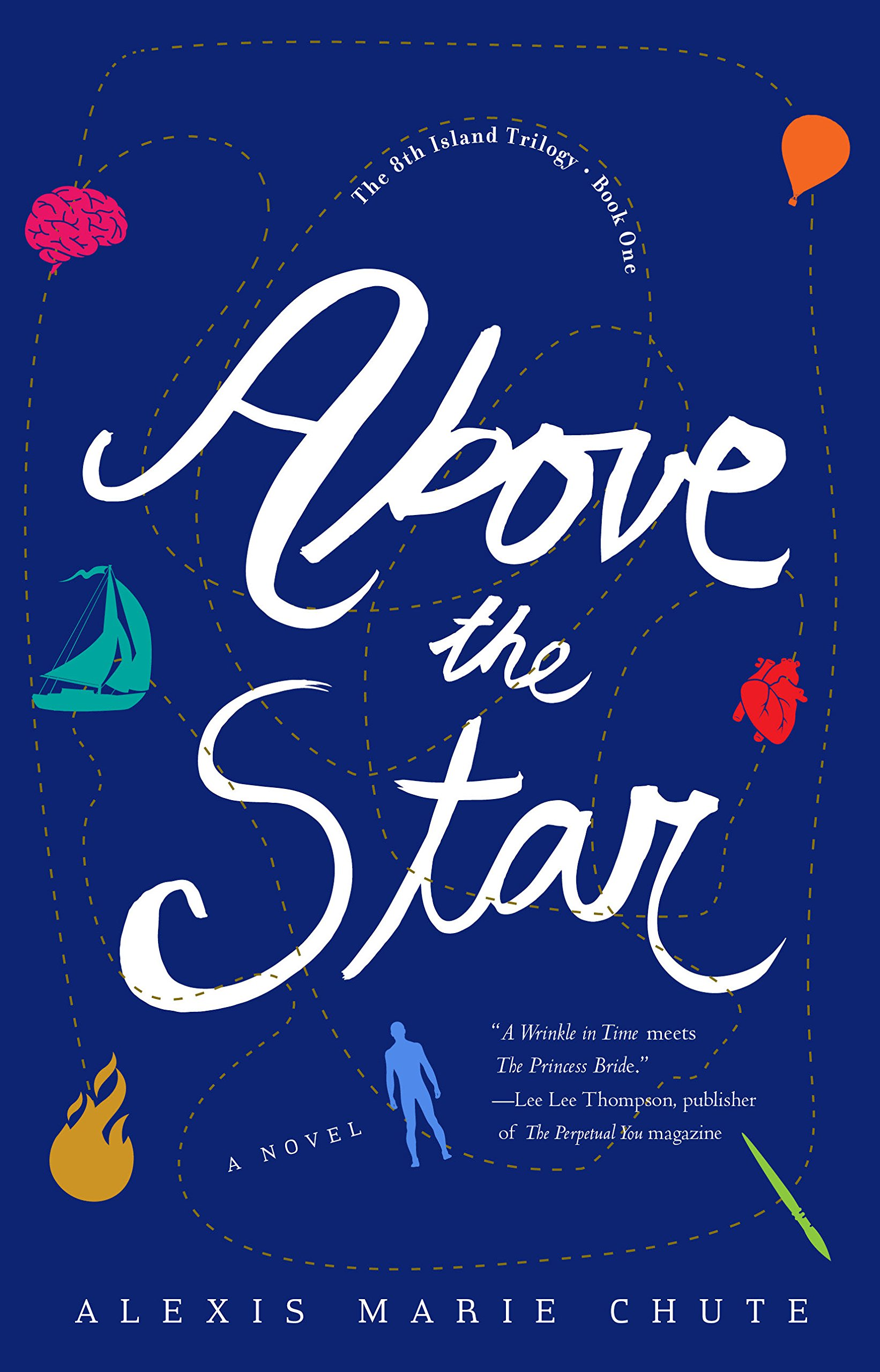 Above the Star: The 8th Island Trilogy: Amazon co uk: Alexis