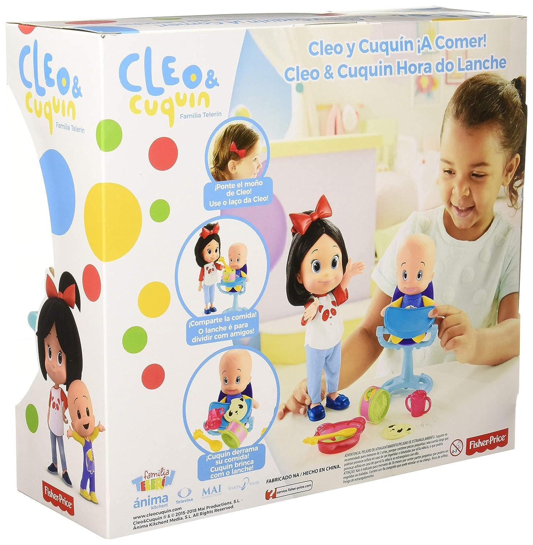 Amazon.es: Cleo Y Cuquin Muñecos Vamos A Comer, (Mattel Flw49): Juguetes y juegos