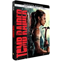 TOMB RAIDER - Edition limitée Steelbook 4K ultra HD + Blu-Ray 3D + 2D