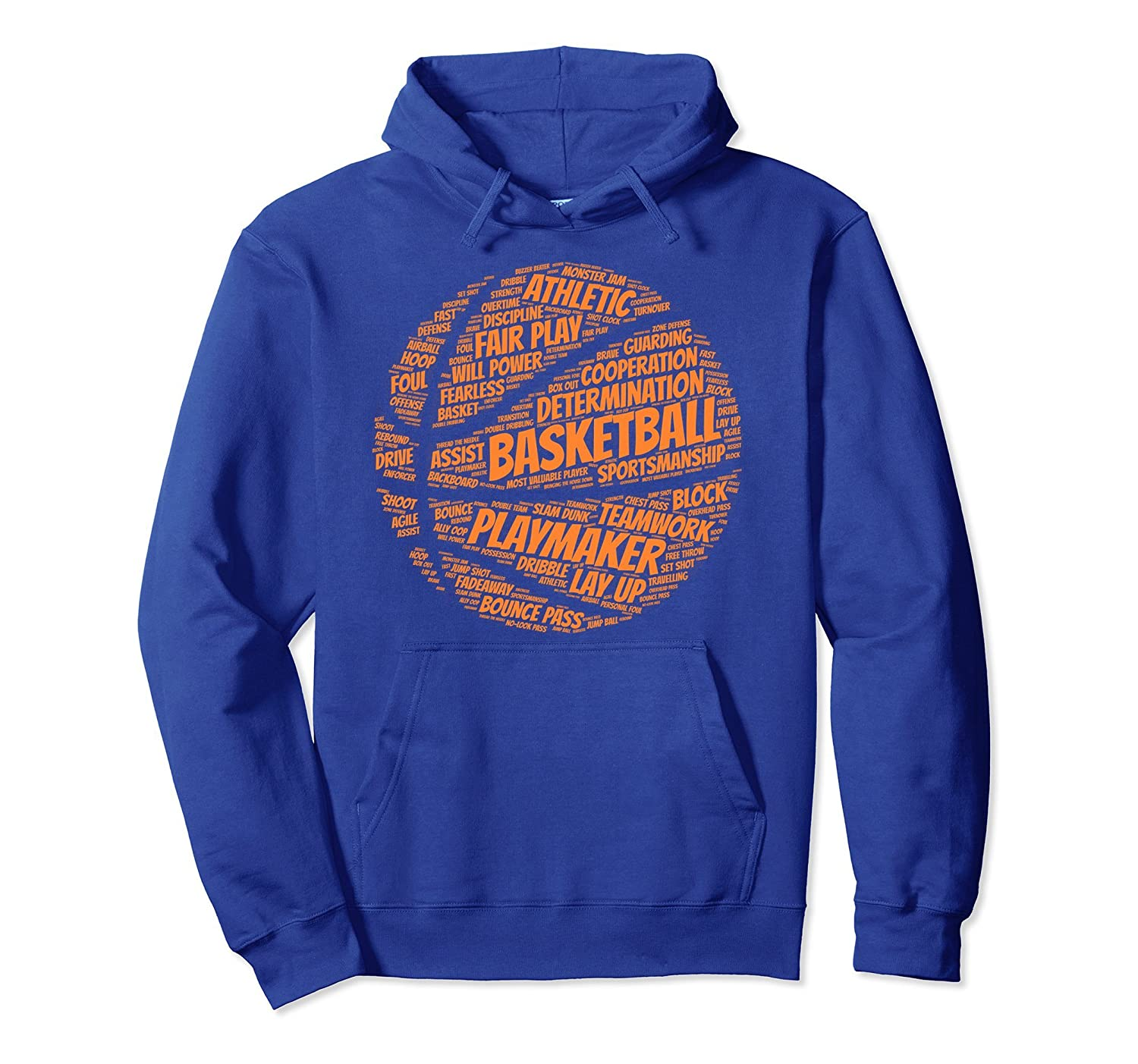 Basketball hoodie gift for boys, girls, men and women-alottee gift