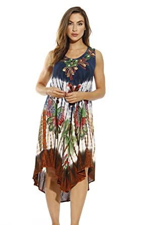 Riviera Sun Summer Dresses / Swimsuit Cover Up at Amazon Women's ...