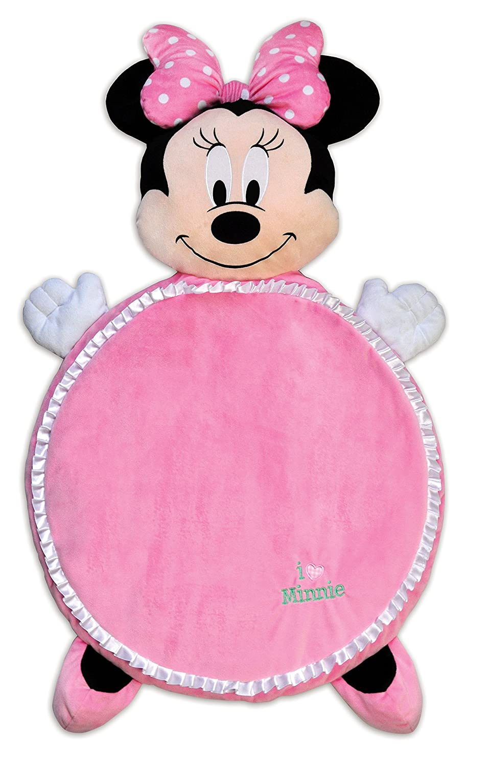 KIDS PREFERRED Disney Baby Minnie Mouse Plush Playmat, 25