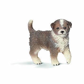 Schleich - Cachorro de perro pastor australiano, figura (16393): Amazon.es: Juguetes y juegos