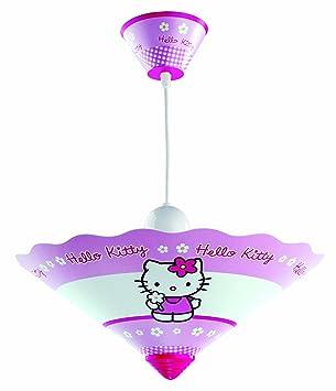 Dalber Lampe De Plafond   Lustre Conique   Hello Kitty   PVC