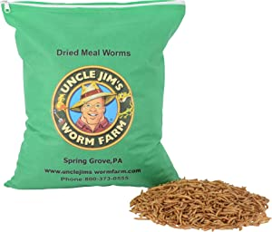 Uncle Jim's Worm Farm 2 Pound Dry Meal Worms