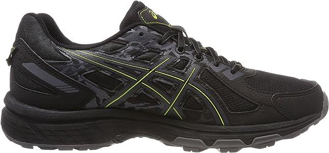Asics Gel-Venture 6, Zapatillas de Running para Hombre, Negro (Black/Neon Lime 001), 40 EU: Amazon.es: Zapatos y complementos
