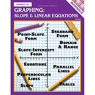 McDonald Publishing Graphing Slope & Linear Equations Reproducible Book: Toys & Games