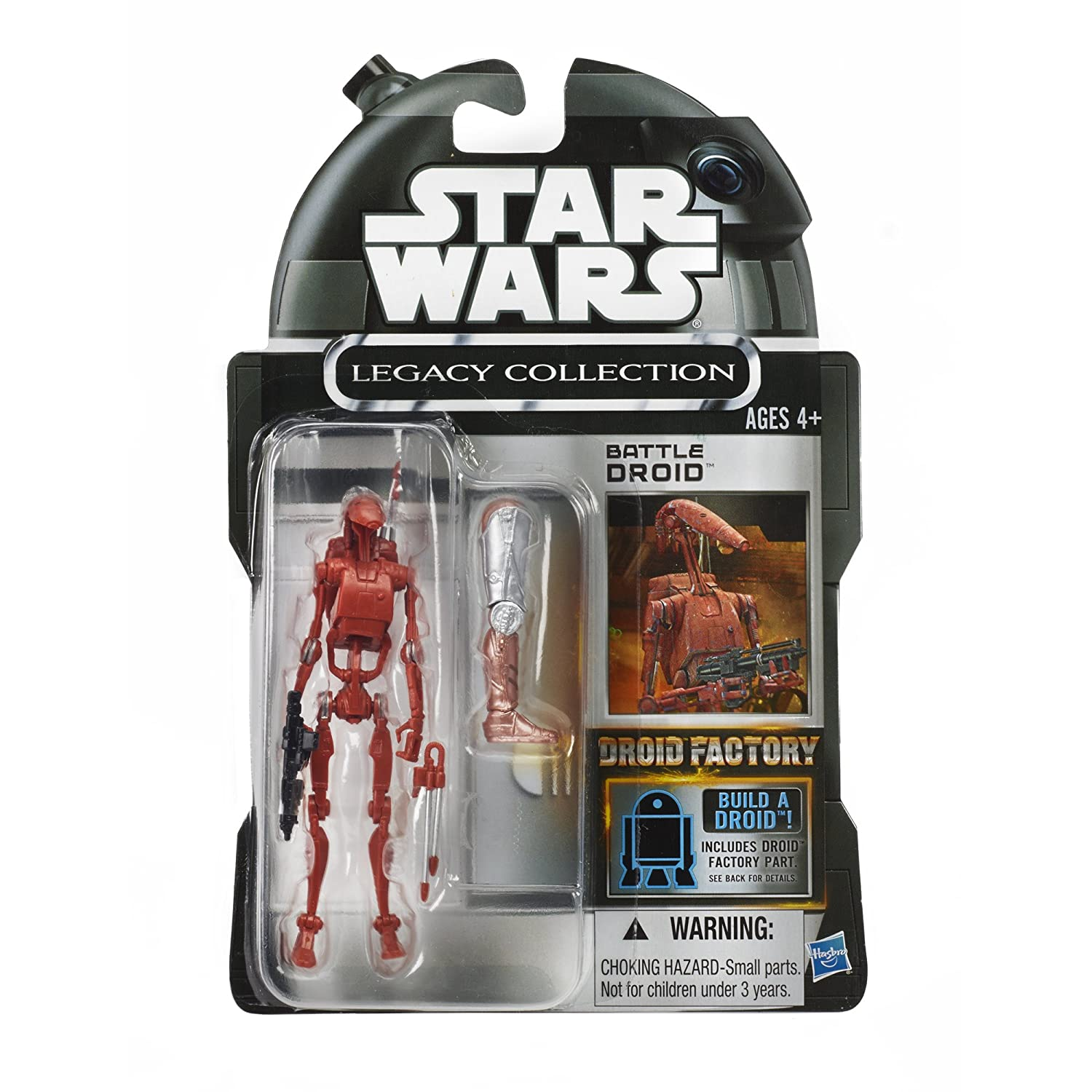 Amazon Star Wars Legacy Collection Droid Factory Action