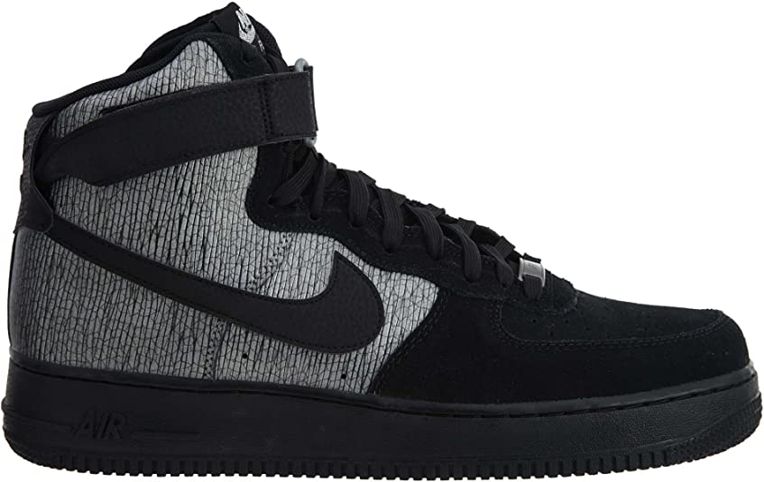 Nike Women's Sneaker Nike Air Force 1 In Pelle Vegan Nera E