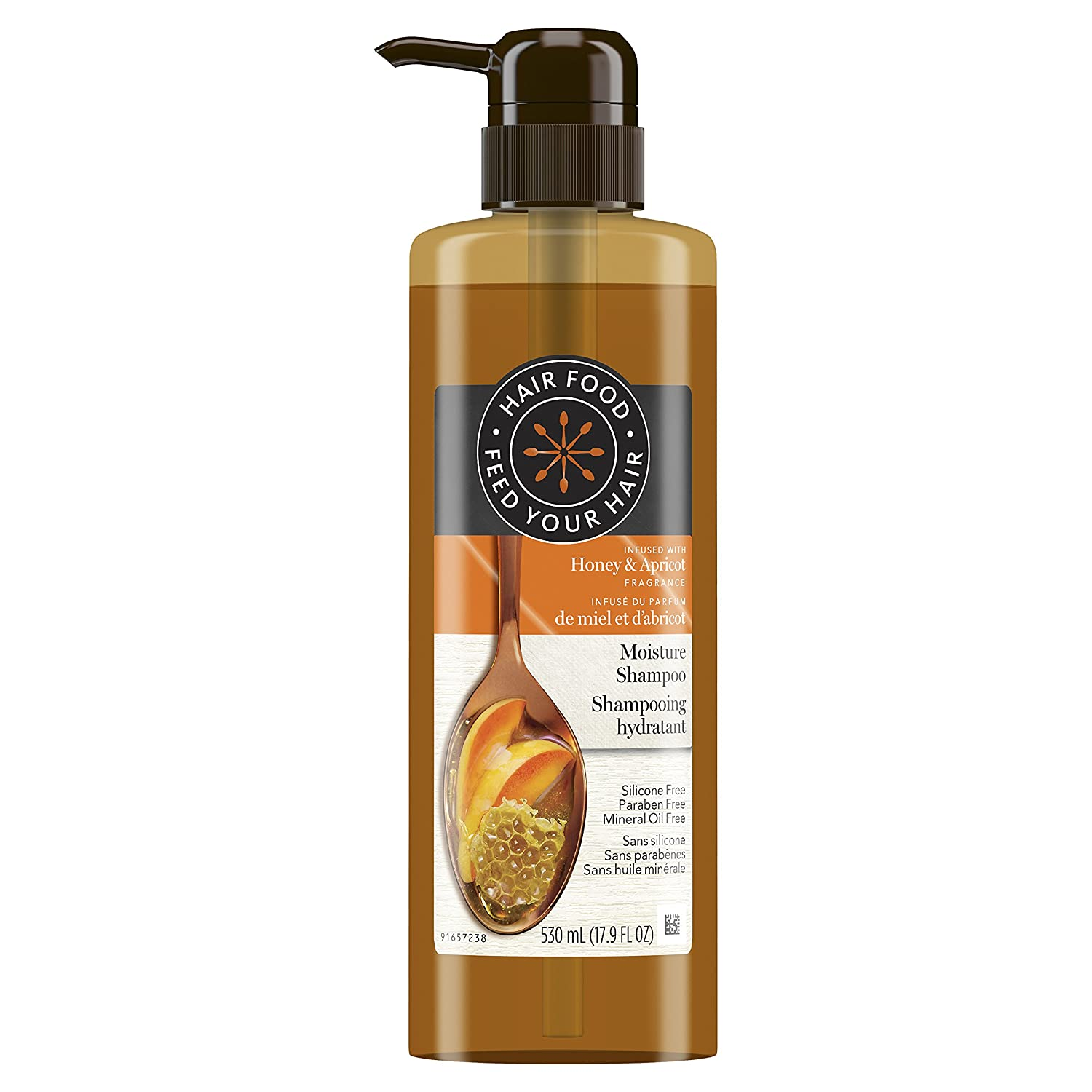 Hair Food Moisture Conditioner Infused With Honey Apricot Fragrance, 530ml Procter and Gamble