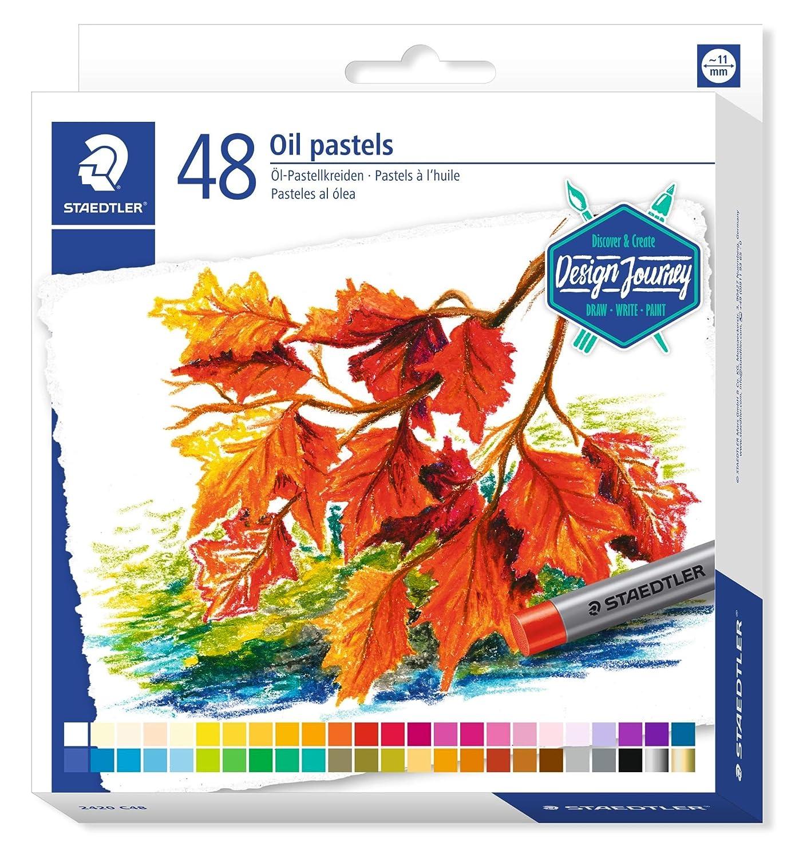 Staedtler Karat 2420 C24 Oil Pastels - Assorted Colours (Pack of 24)