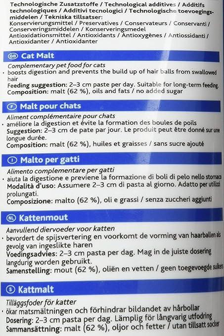 Trixie Malta para Gatos en Pasta, 240 g: Amazon.es: Productos para ...