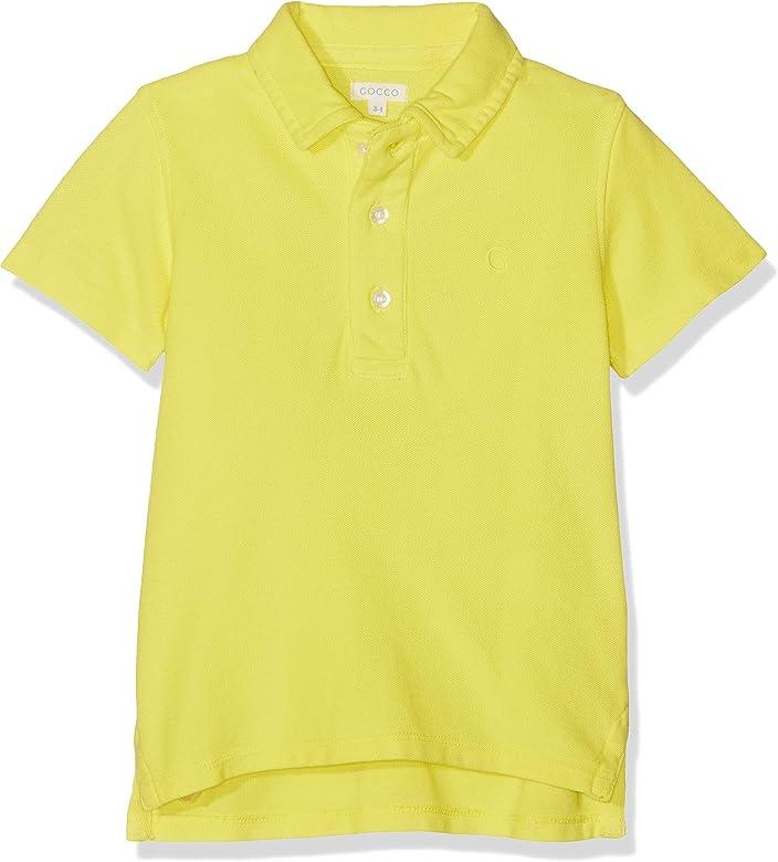 Gocco Polo Basico (Amarillo Yb), 104 (Tamaño del Fabricante:3-4 ...