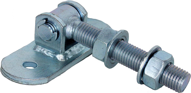 UHRIG/® Torband Einstellbar lang M12 M16 M18 M20 T/ür Torscharnier Angel kmpl Torband M12#750-12 verzinkt