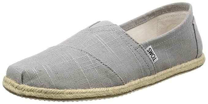 1693527bead Image Unavailable. Image not available for. Color  TOMS 10008381 Men s Classics  Linen Rope-Sole ...