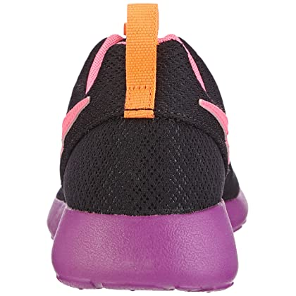Nike Roshe Run Print (GS) PinkBlack Big Girls Running Shoes