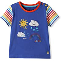 Algodón orgánico - Bebé Niña Niños pequeños - Camiseta de Manga Corta - Niñita Niñito (0-4 Años)