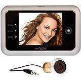 prsTECH® DoorCAM DC1 Digitaler Türspion 3,5 Zoll LCD Display Extra Gross für Türstärken von 38mm-110mm, Videofunktion, Fotofunktion, Speicherfunktion, einfache Benutzung, Kinder- und Seniorenfreundlich Sicherheit, Security, Überwachung