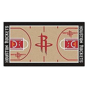 FANMATS NBA Houston Rockets Nylon Face NBA Court Runner-Small