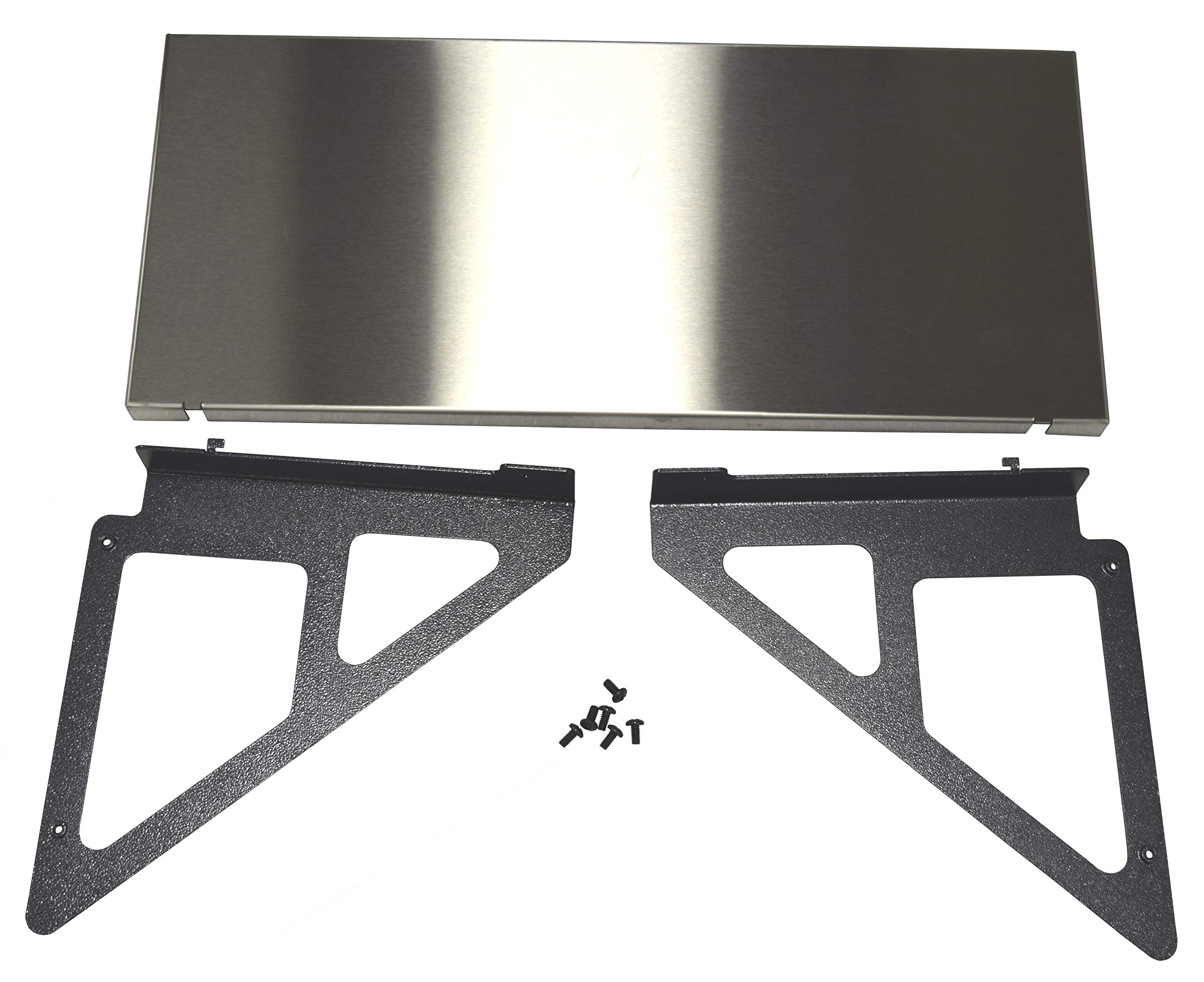 RMP Universal Steel Grill Cart – Stainless Steel Tabletop Extension