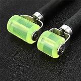 WSSROGY 2Pcs Car Sound Deadener Application Rolling Wheel Roller,Heat Abatement Mat Wallpaper Application PU Seam Roller