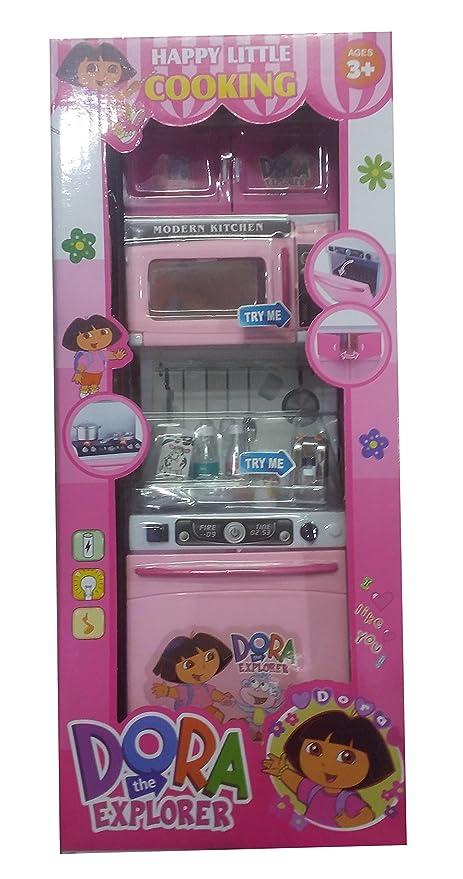 Buy S S Traders Cute Dora Kitchen Set For Kids 38u424 Online At Low