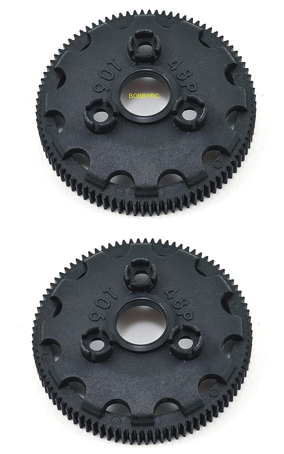 Skully Bandit Bigfoot 2WD XL-5 Trucks RUSTLER Stampede These are Good for The Slash 2pcs TRAXXAS SPUR Gear 4690 SPUR Gear 90T 48P