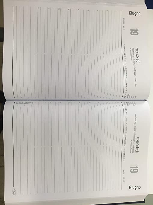 Agenda Mega para restaurantes con dos páginas para cada día ...