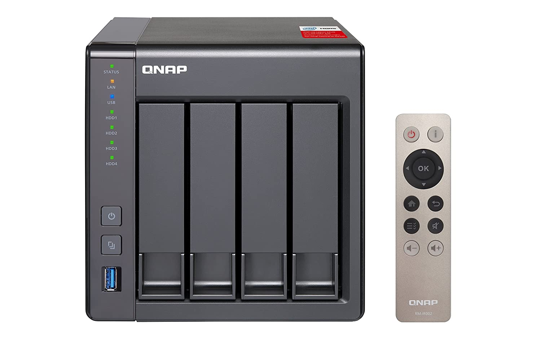 QNAP TS-451+ - Dispositivo de Almacenamiento en Red NAS (Intel ...