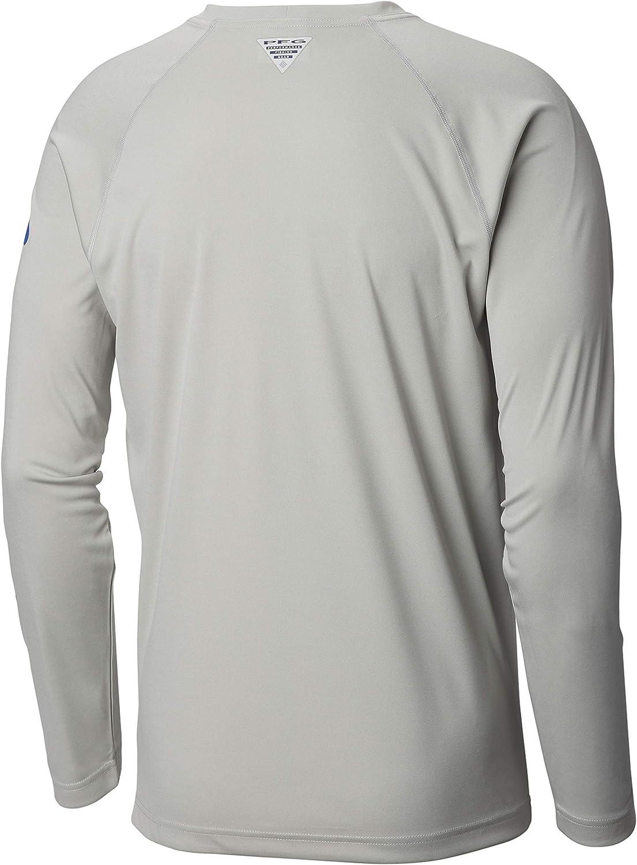 Columbia Mens PFG Terminal Tackle Heather Long Sleeve Shirt